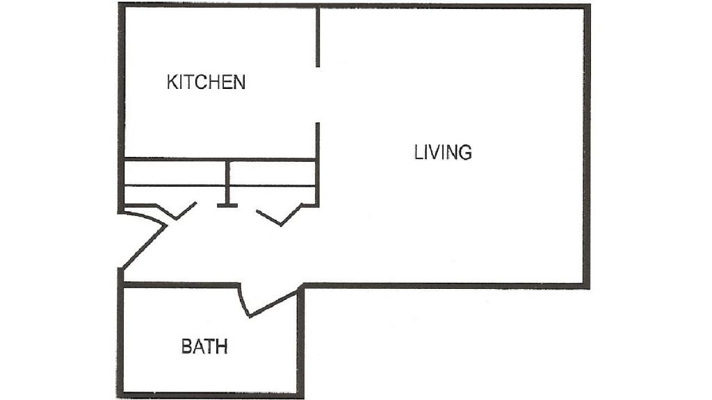 Penn Tower Studio Floor Plan
