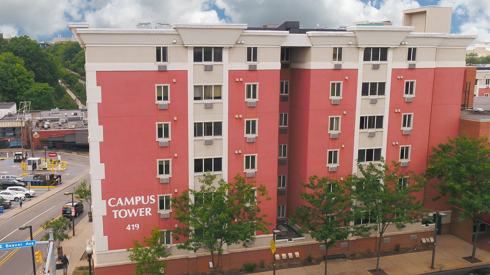 Campus Tower - Penn State Apartments on Beaver Avenue