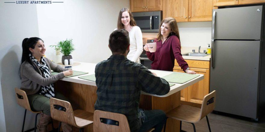 Campus Tower kitchen